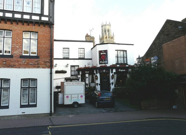 The Rose of England public house, High Street, Ramsgate