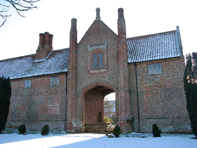 The Porter's Lodge at Hales Hall