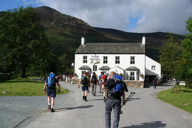 The Fish Hotel in Buttermere