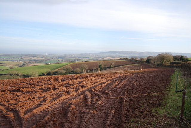 View NE from Stouts Way Lane