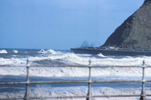 Rough Sea at North Bay Scarborough