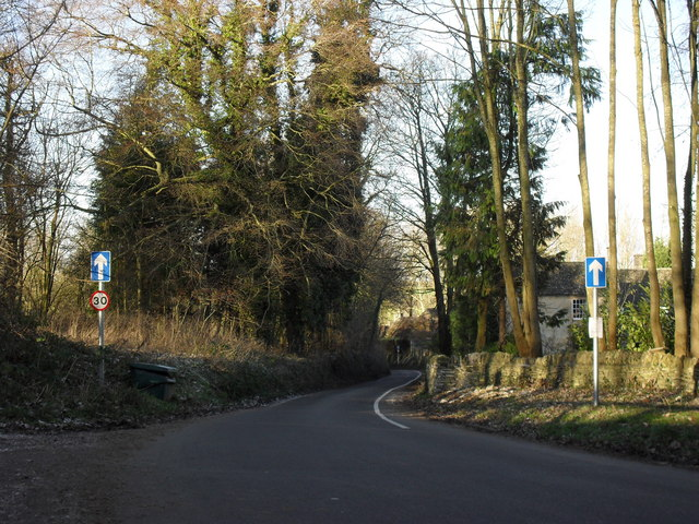 Road into Old Minster