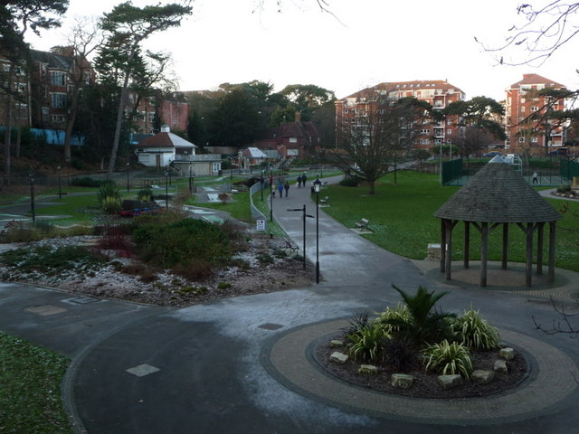Boscombe Chine Gardens: a chilly afternoon