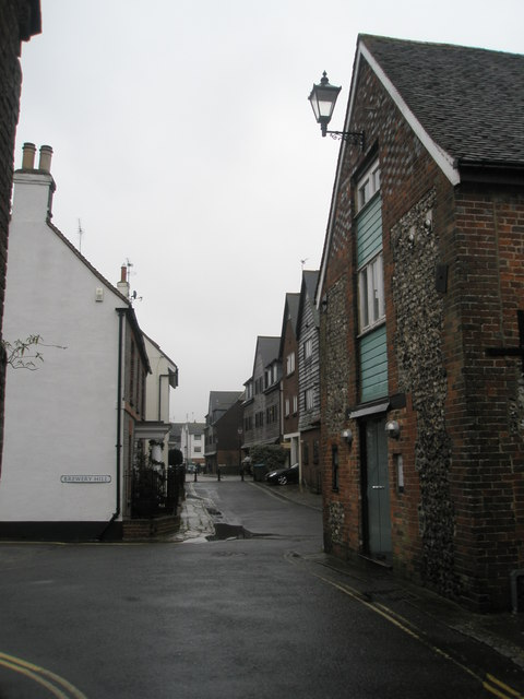 Approaching the junction of River Road and Brewery Hill