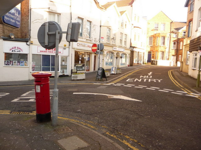 Bournemouth: postbox № BH2 66, St. Michael's Road