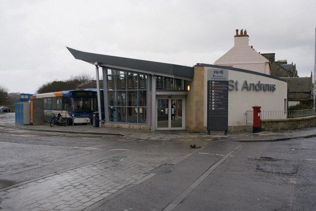 St Andrews bus station