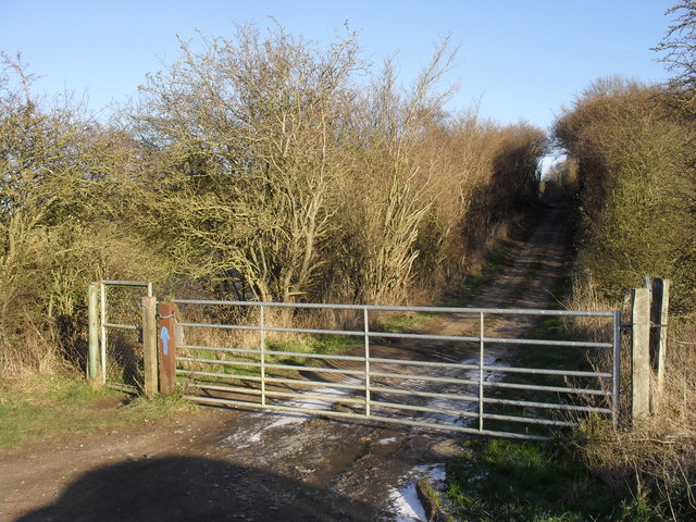 Restricted byway to Whiteoak Green