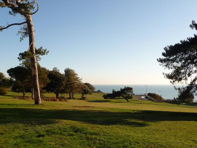 Bournemouth: West Cliff gardens