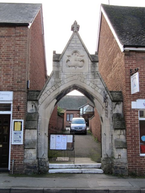Side gate to the church
