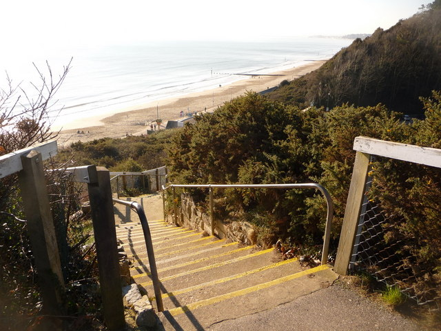 Bournemouth: top of Durley Steps