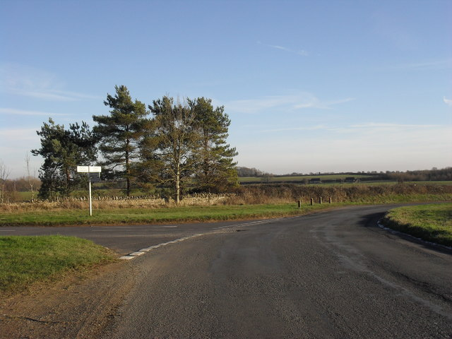 Junction just north of Crawley