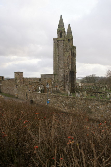 Ruins of St Andrews Cathedral