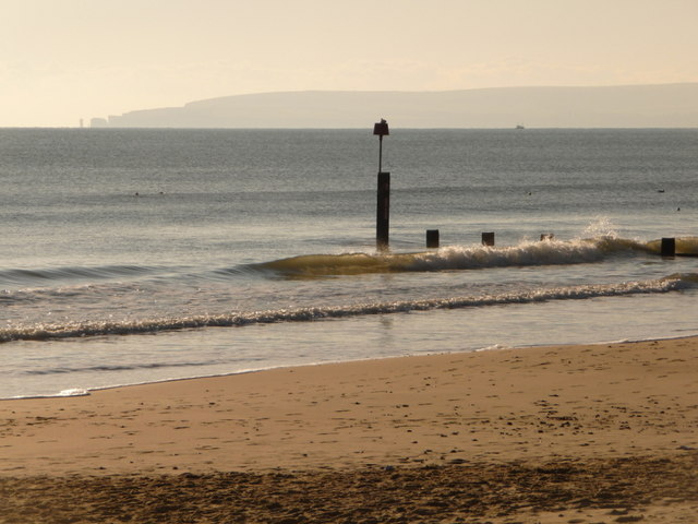 Bournemouth: groyne 7 and Old Harry view