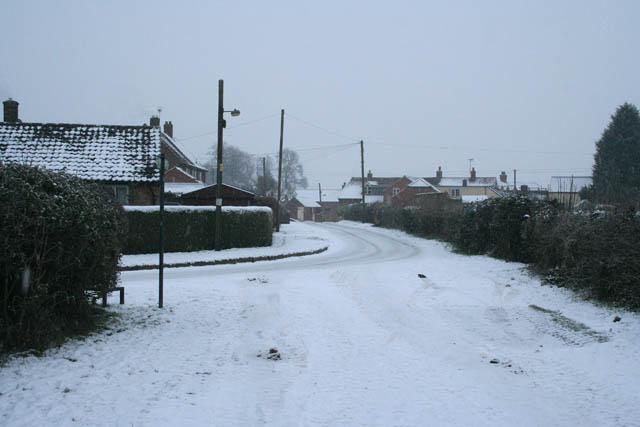 Vicarage Lane, Eaton