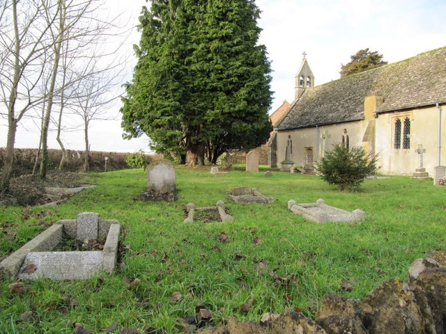 Graveyard by the church