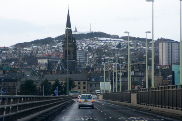 Dundee from the Tay Road Bridge