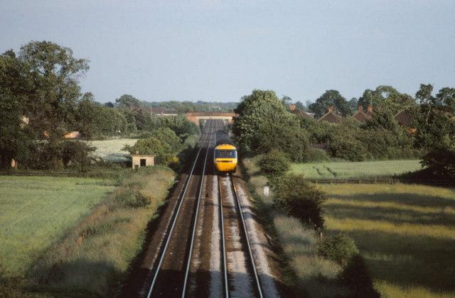 East Coast Main line near Bishopthorpe