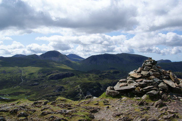 The top of Fleetwith Pike