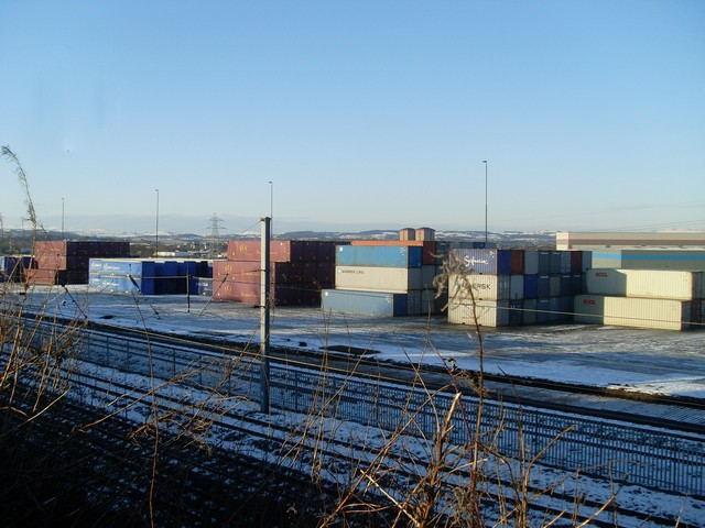 Containers at Linwood Business Park