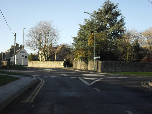 Mini roundabouts in Highworth
