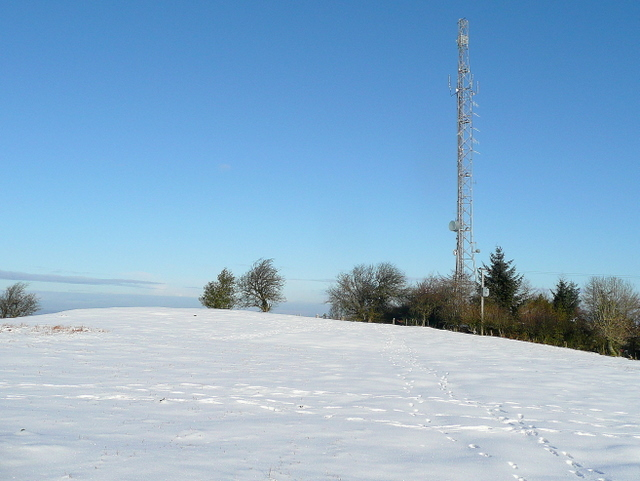Garway Hill radio transmitter