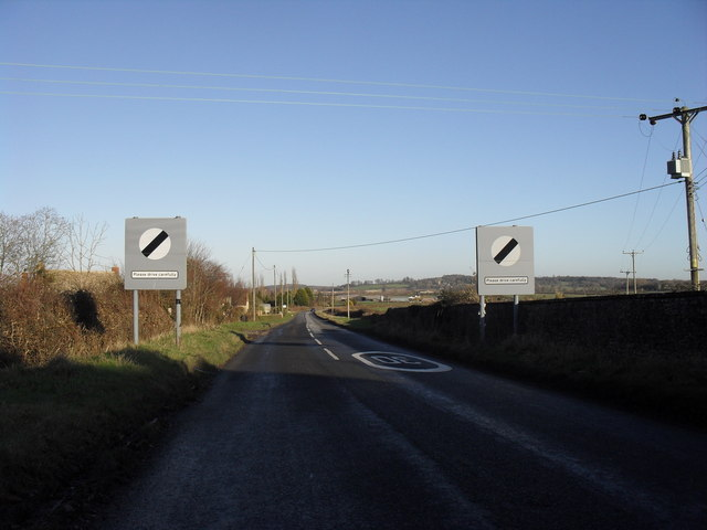 Leaving Highworth on the B4019