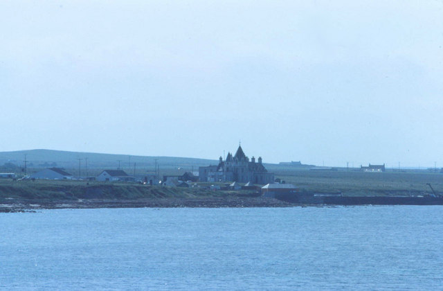 Distant view of John o Groats