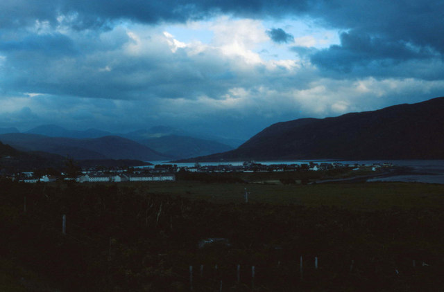 View over Ullapool and Loch Broom
