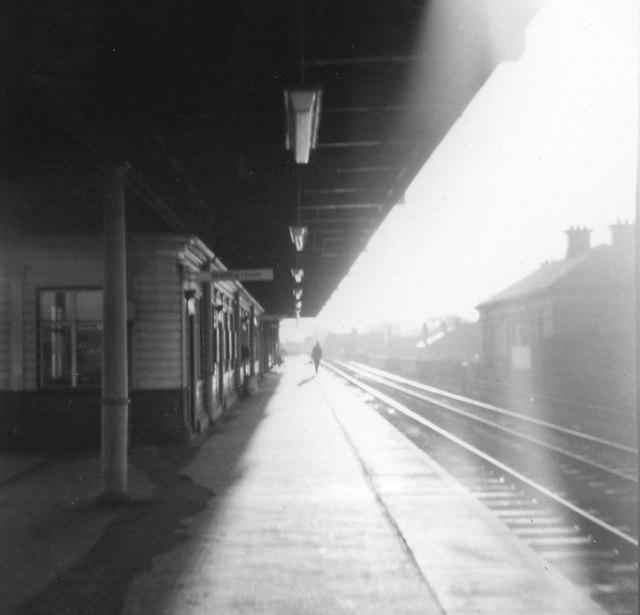 Lichfield City Station