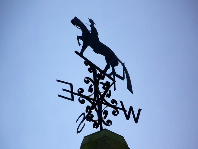 Weather vane, Osmington