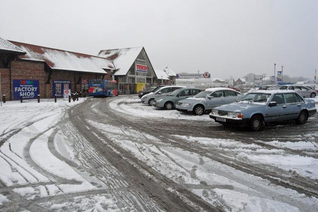 Tesco car park, Barton Upon Humber