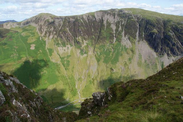 Gatesgarthdale from Honister Crag