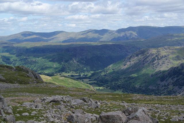 The eastern slopes of Brandreth