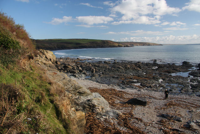 View towards Hoe Point