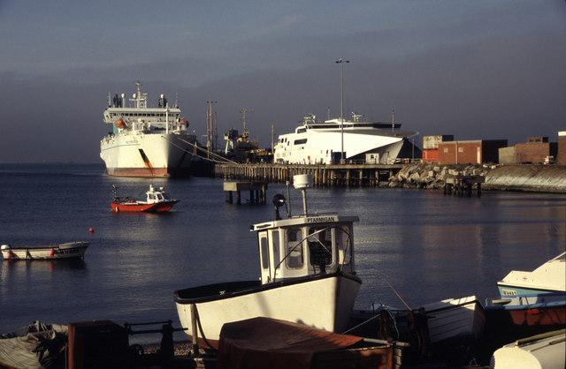 Castletown, Portland Harbour