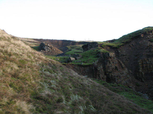 Old mine workings near Grove Rake (4)