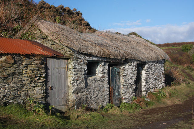 Old fisherman's cottage at Prussia Cove