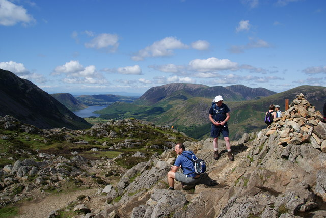 The top of Haystacks