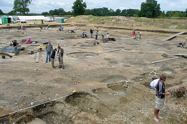 Excavating Silchester