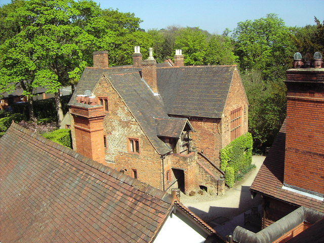 Old Manor house at Wightwick