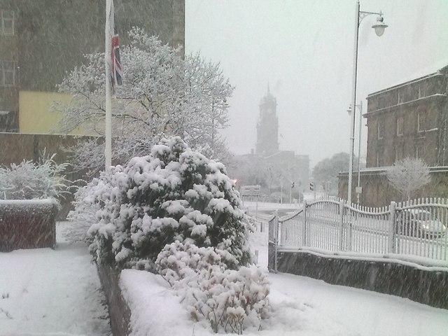 Winter Scene in Birkenhead