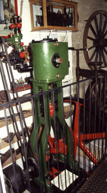 Steam engine, Sherborne Museum