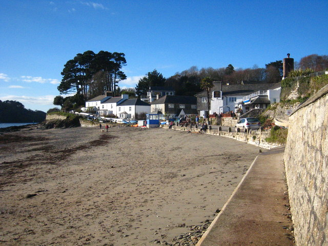 The beach at Helford Passage
