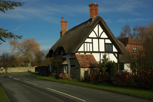 Thatched cottage in Wickhamford