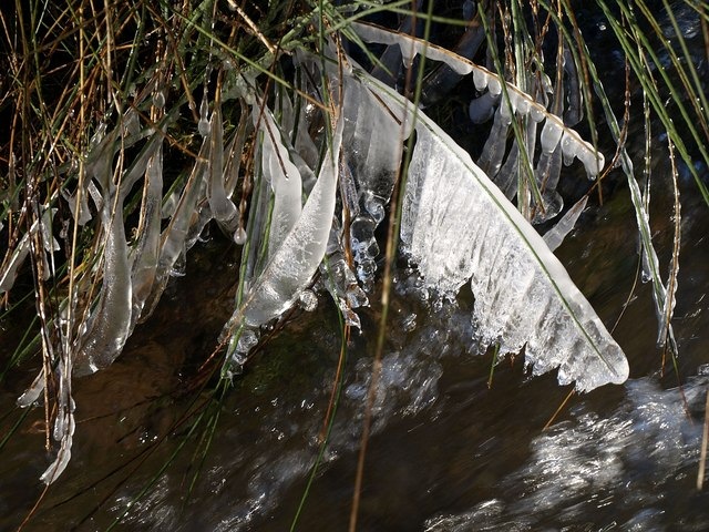 Ice curtain, Marlees Brook