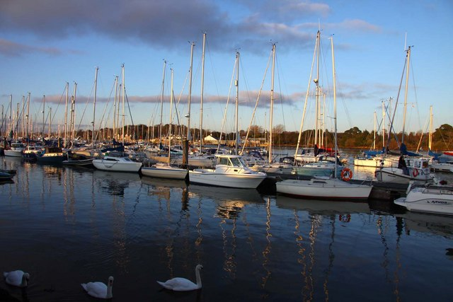 Moorings at Lymington