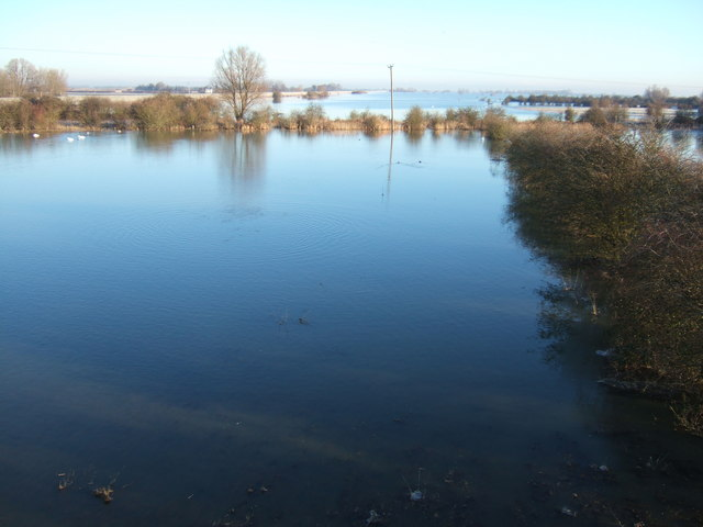 Winter washland - The Ouse Washes at Mepal