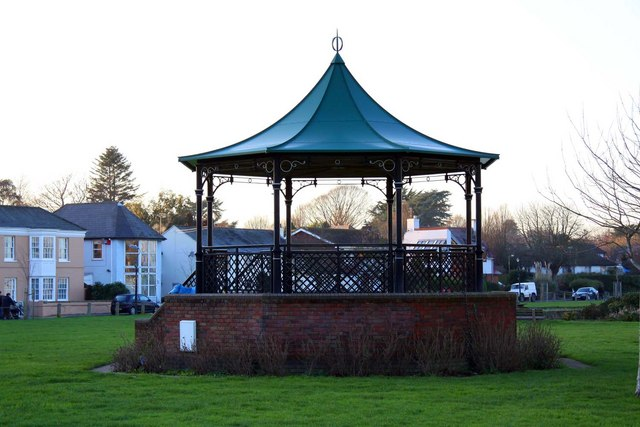 The bandstand at Lymington