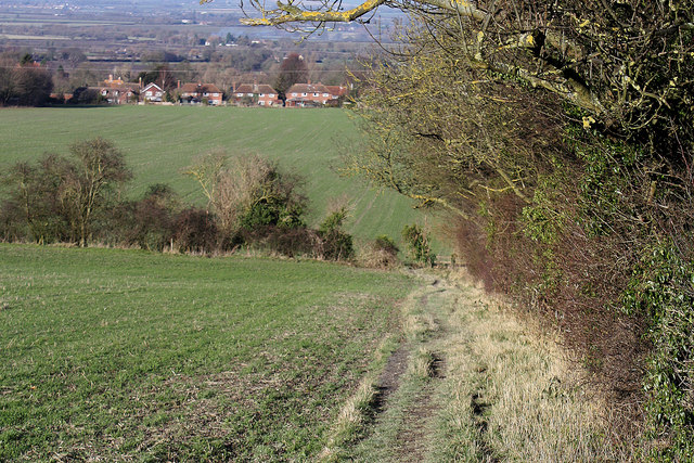 Chiltern Way looking towards Bledlow
