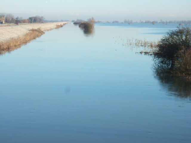 Where's the river? - The Ouse Washes at Mepal